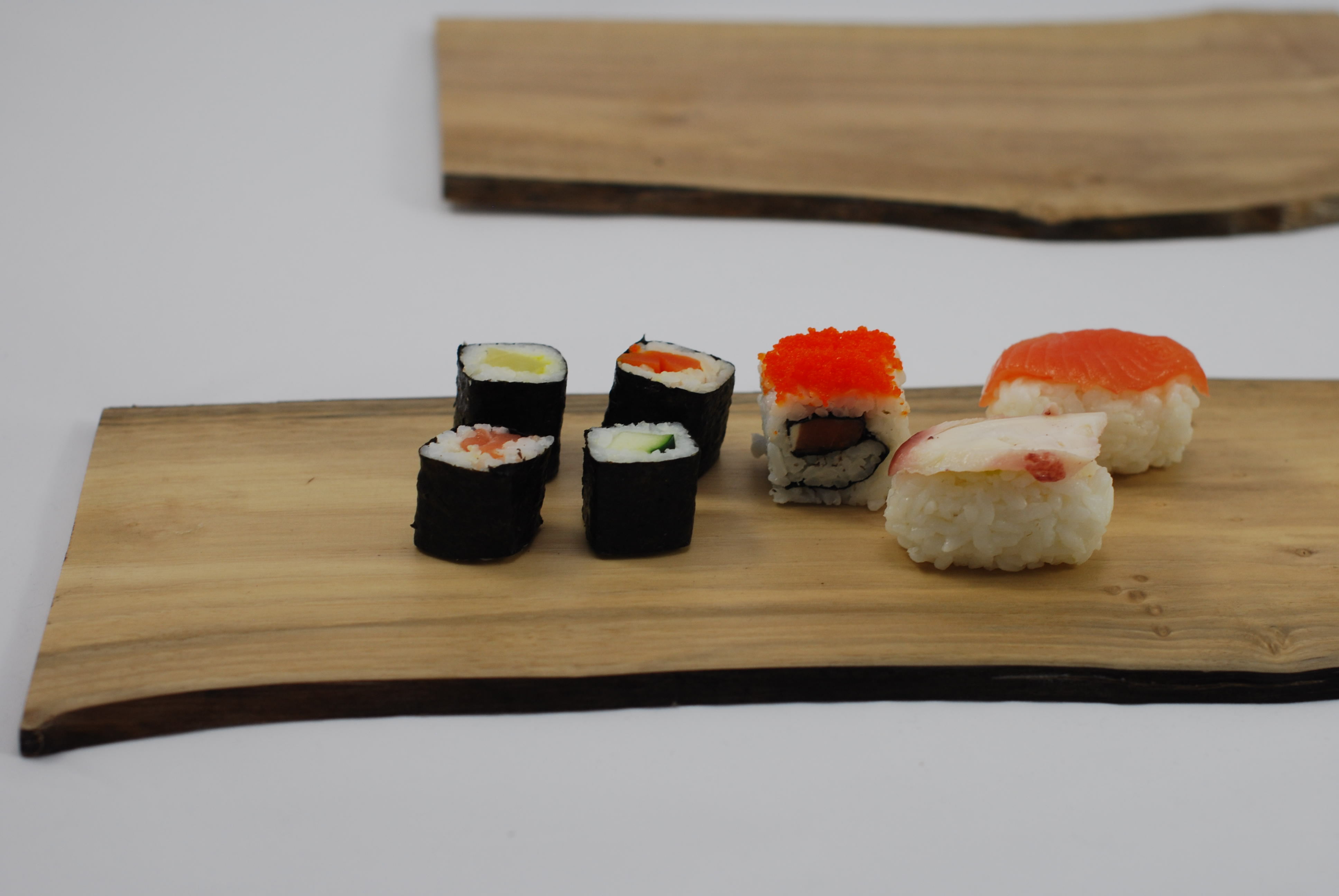 Bandeja/Tabla alimentaria de nogal