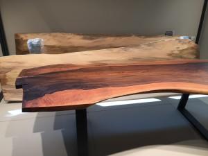 Nuestras primeras mesas en el Showroom